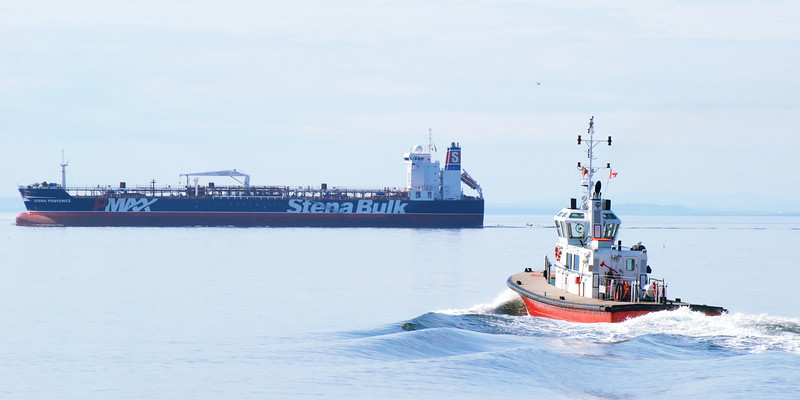 """The """"Charlevoix"""" brings specialized pilotes to navigate on the St-Lawrence."""