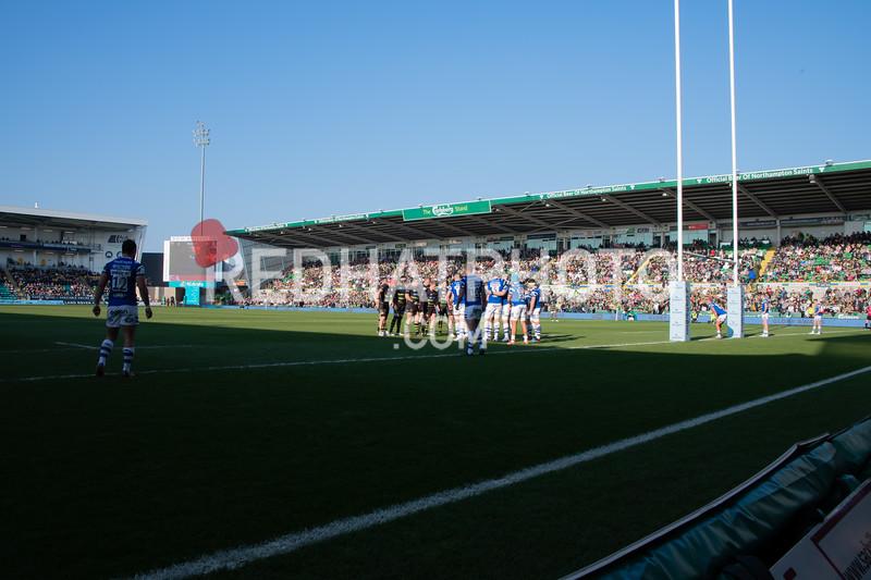 Franklin's Gardens stadium photos