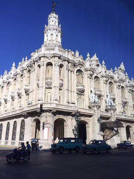Gran Teatro de La Habana, home of the National Ballet - Kristin Cass
