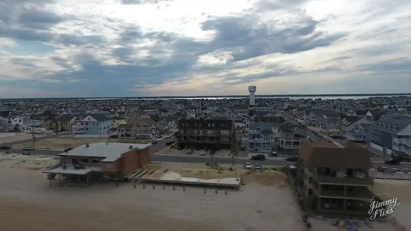 FAMILY ON THE NEWJERSEY SHORE DRONE STYLE