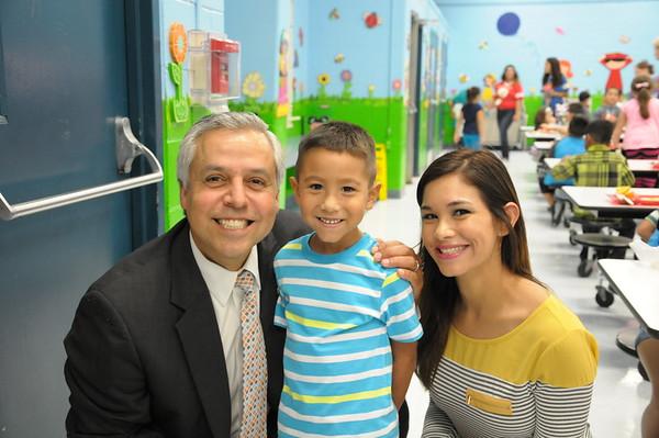 Dr. Cavazos Visits Bonham Sep 2015