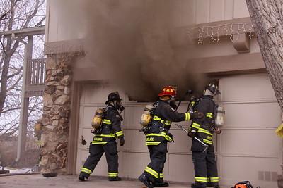 Ridgeview Drive Garage Fire