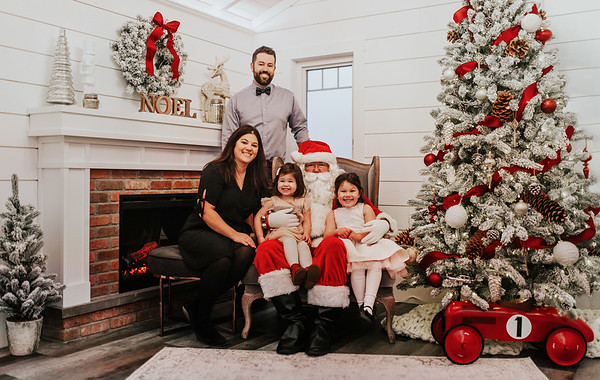 Month Five {December 2018} Santa