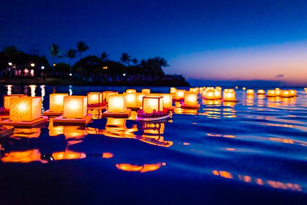 Lantern Floating Hawaii 2008-2014