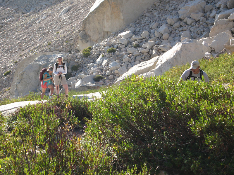 above LBSL - starting the slabs to Clyde's Meadow
