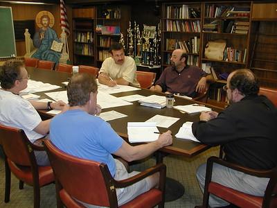 Community Life - Christ Kamages Visit to New Property - September 21, 2002