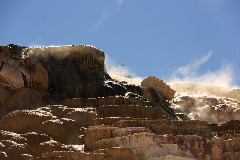 Mammoth Hot Springs 007