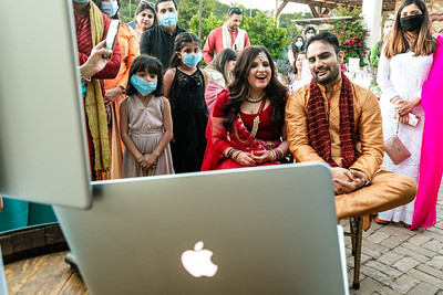 Tasleen and Vaibhav - Reception
