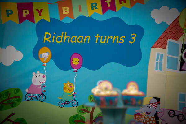 Ridhaan B'Day