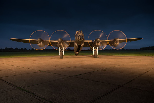 'Just Jane' - Lancaster Night shoot