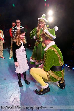 "Kera at ""Elf: The Musical"" - Make-A-Wish Recipient"