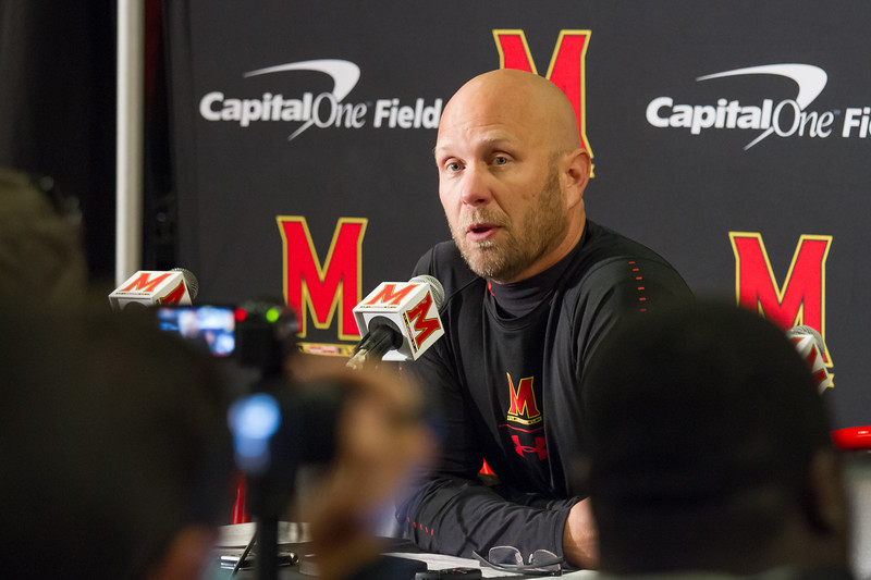 """Interim Head Coach Canada takes the blame for Maryland's loss: """"We lost today because we didn't play well enough, we played a really good football team, and I didn't coach well enough"""""""