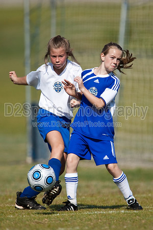 U11-12 Girls Furies vs Academy Girls 5/15/2010