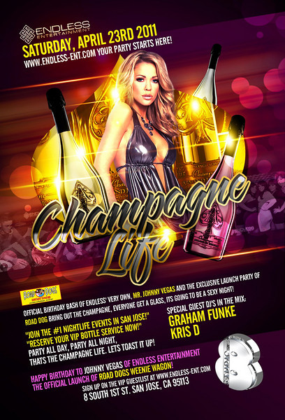 4/23 [Champagne Life@Studio 8]