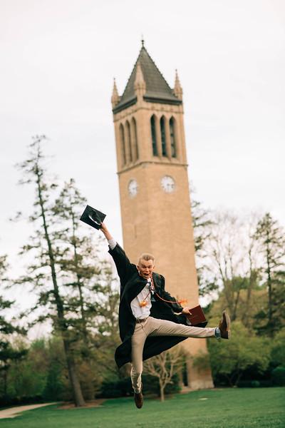 justin - graduation