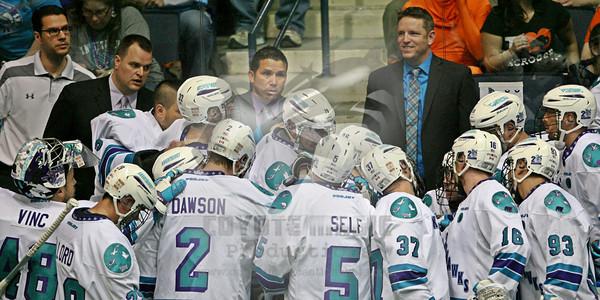 "5/17/2014 - East Final ""Mini"" Game #3 - Buffalo Bandits vs. Rochester Knighthawks - Blue Cross Arena, Rochester, NY"