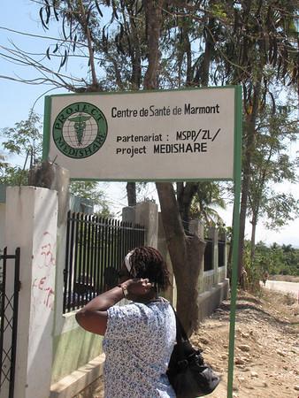 Haiti MediShare. Marmont clinic.