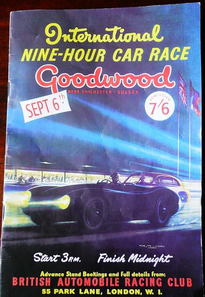 Goodwood Revival 2009 Program cover