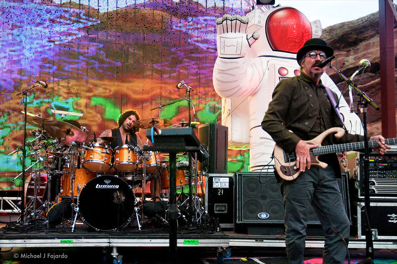 Primus Opening for The Flaming Lips Red Rocks Amphitheater Morrison, CO August 4, 2011