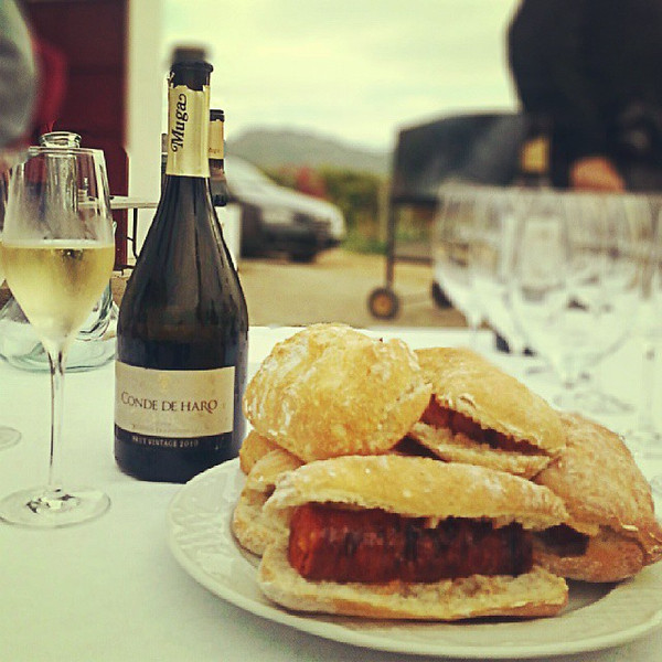 Arrived_at_the_vineyard_at_10am_and_greeted_with_cava_and_choripan._Haro_is_making_it_very_difficult_to_leave..jpg
