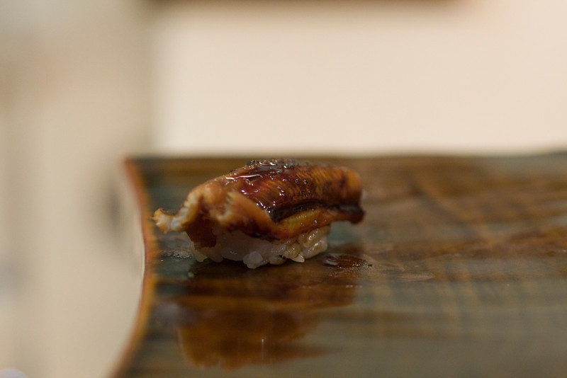 Course #10: Sushi Sushi #18: Sea Eel (unagi)