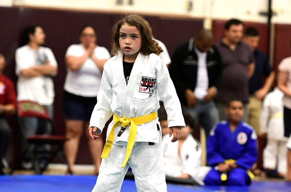 7/21/2018 Mike Orazzi | Staff Kylie Dunn during the Nutmeg Games Judo held at New Britain High School Saturday morning.