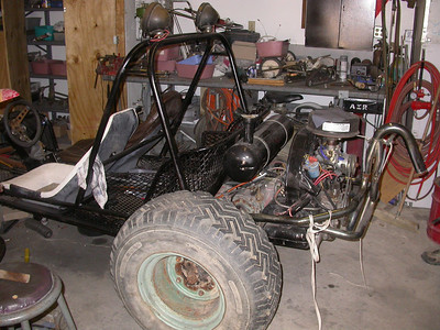 Marks old school buggy