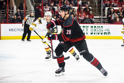 Canes vs Golden Knights 02.01.19