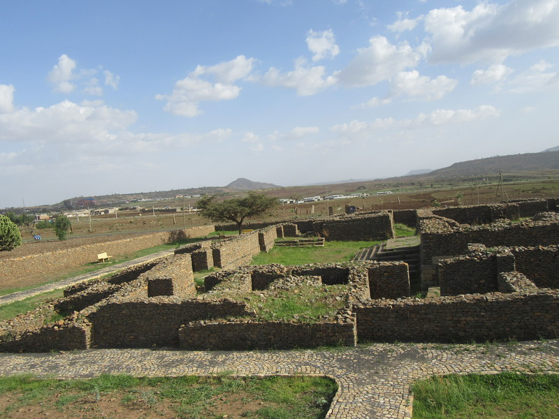 025_Axum. The Palace of Queen Sheba. 9th Century BC.JPG