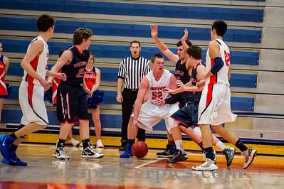 Basketball JVSHS vs Timpview 2-4-14