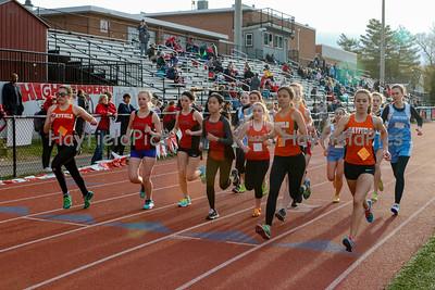 Girls Outdoor Track & Field 4/6/16