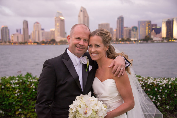 Coronado Island Wedding - Centennial Park & Candelas San Diego Bay Wedding Reception