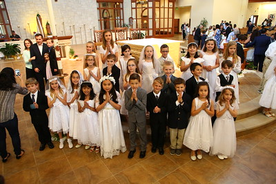 2017 1st Communion St Vincent de Paul