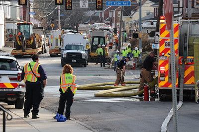 Gas Leak - South Ogontz Street - February 5, 2019