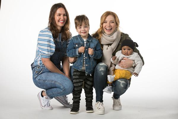 Rachelle Lefevre & Children