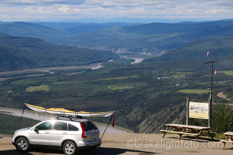 The Yukon River from Midnight Dome