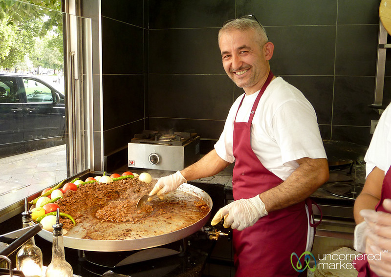 Friendly Cook at Toros on Oranienplatz - Kreuzberg, Berlin