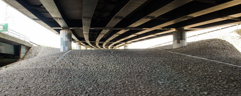 Flyover in the Lea Valley