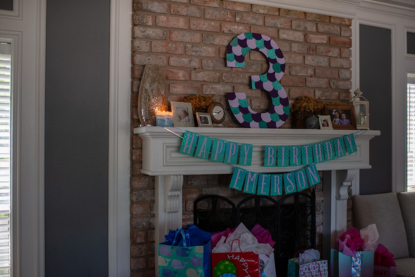 Emerson turns 3!
