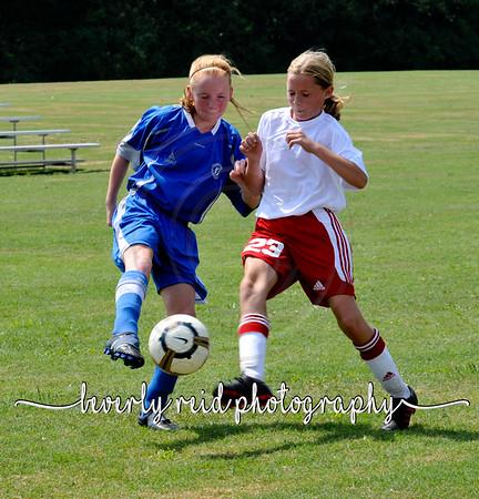 2010 082810 ERSA 99 RED GIRLS VRS. BLUE 2:30pm Field 8a