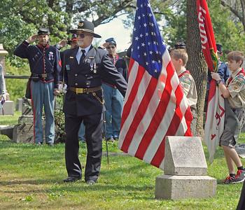 Civil War veterans honored in Downers Grove