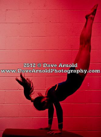 1/30/2012 - Varsity Gymnastics - Needham