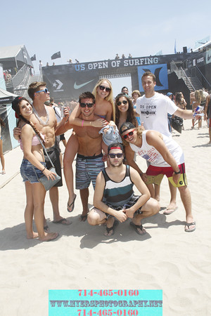 US Open Surf Huntington Beach California 2012