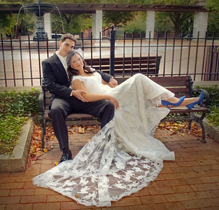 Bride and Groom Portraits Photography Franklin Square Syracuse NY