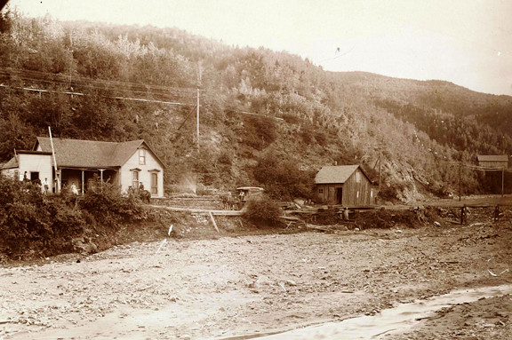 The Gayville Toll House.  Undated.