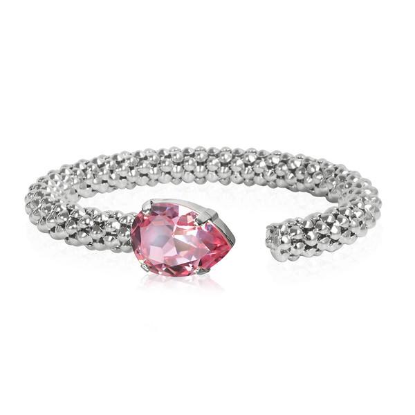 Classic Rope Bracelet / Light Rose Rhodium