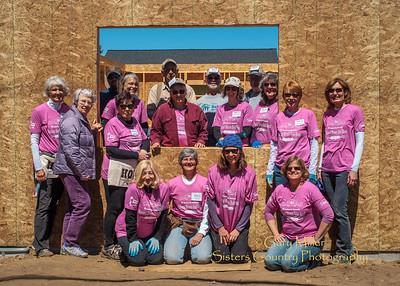 Habitat Women Build Week 2015