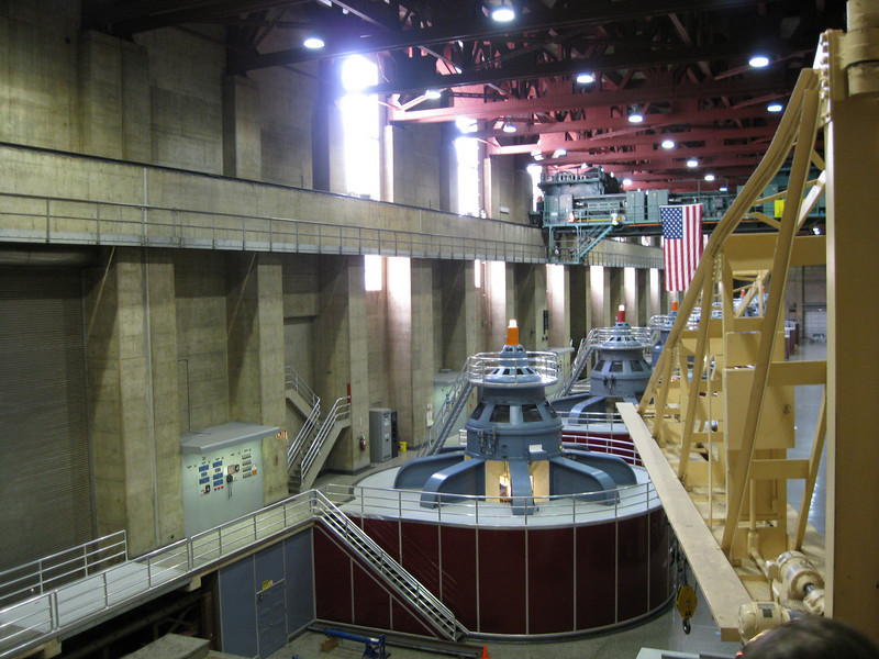 The generator dynamos are below.