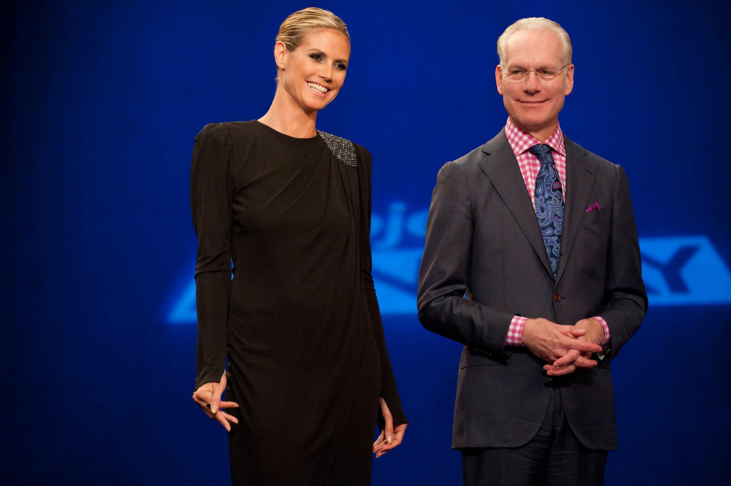 . Project Runway (L to R) Heidi Klum and Tim Gunn return for Project Runway season 11, premiering Thursday, January 24, at 9pm ET/PT on Lifetime. Photo by Barbara Nitke Copyright 2011