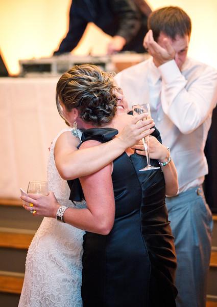 Bride hugging maid of honor after toast.jpg